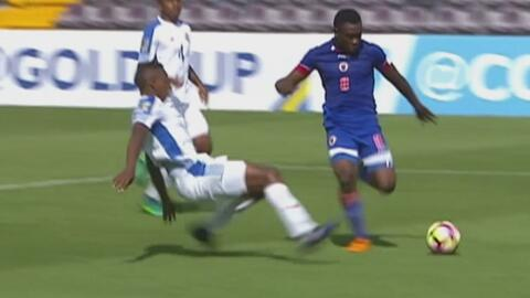Premundial Sub 20: A pesar de tener un hombre menos, Haití puso el 1-1 c...
