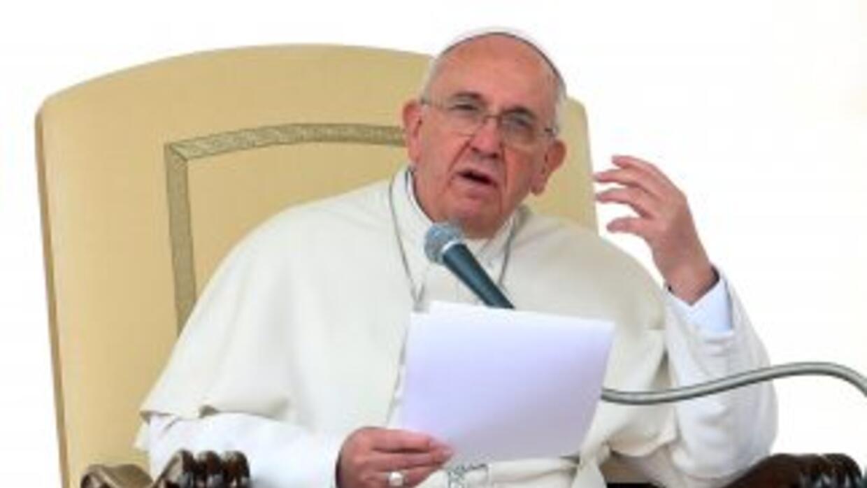 El papa Francisco criticó el sistema económico actual.