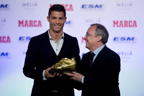 El crack portugués del Real Madrid disfrutó la celebración por ganar su...
