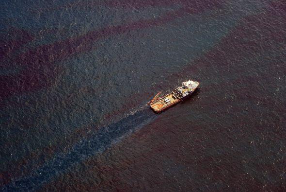 En cuanto a derrames de sustancias tóxicas vertidas al mar, el más grand...