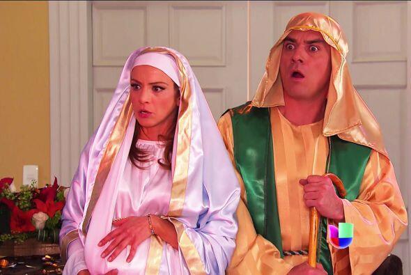 No se asusten Ana y Fernando, bueno, mejor dicho... María y Jos&e...