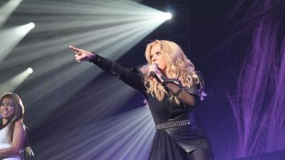 Fotografías tomadas durante el concierto de Ednita Nazario, efectuado el...