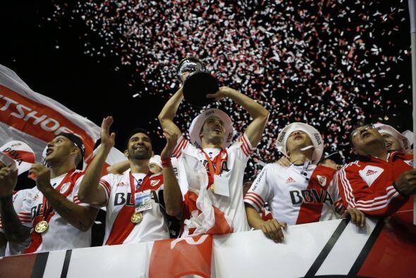 El club argentino River Plate volvió a ganar un torneo continenta...