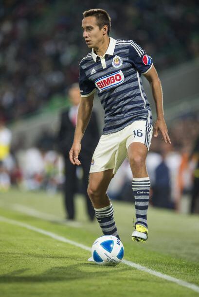 16 Carlos Gerardo Rodríguez.-  El lateral izquierdo del 'Reba&nti...
