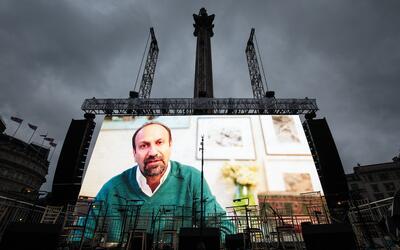 A través de un mensaje grabado, Asghar Farhadi, director de 'The...