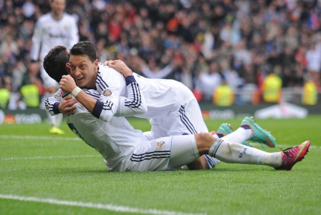 Sólo tres minutos luego del 2-0, Cristiano repetía la dósis.