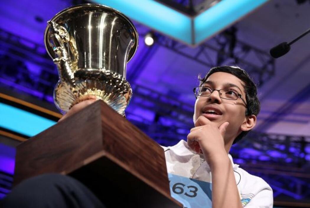 Es la cuarta vez que Arvind participa en el Spelling Bee.