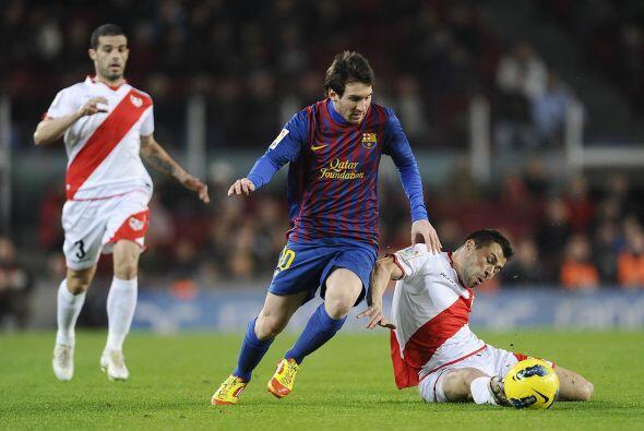 El Barcelona se respuso a la caída sufrida ante el Getafe con una...