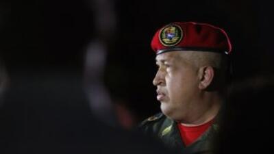 El presidente de Venezuela, Hugo Chávez, ha utilizado el 'Twitter' como...