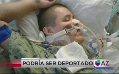 Enfermo en terapia intensiva a punto de ser deportado
