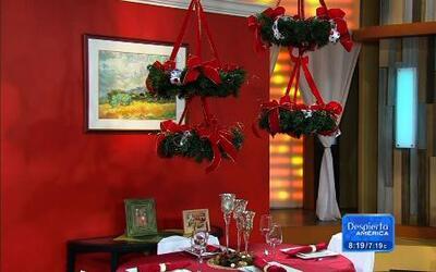 Aprende a decorar tu corona de Navidad