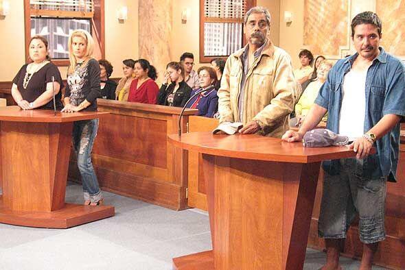La jueza les ofreció una segunda oportunidad a los esposos.