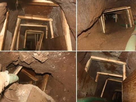 De hecho, la semana pasada se halló un túnel en Nogales que apenas estab...