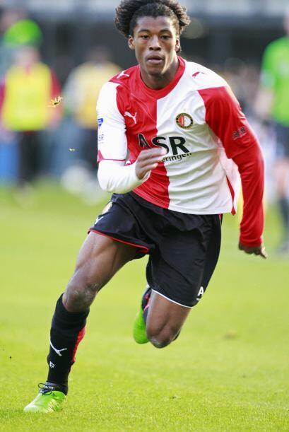 Pese a la crisis que ha vivido su club, el Feyenoord, este talento es de...