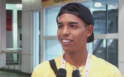 Regresa a casa el venezolano deportista que se inscribió en una competen...