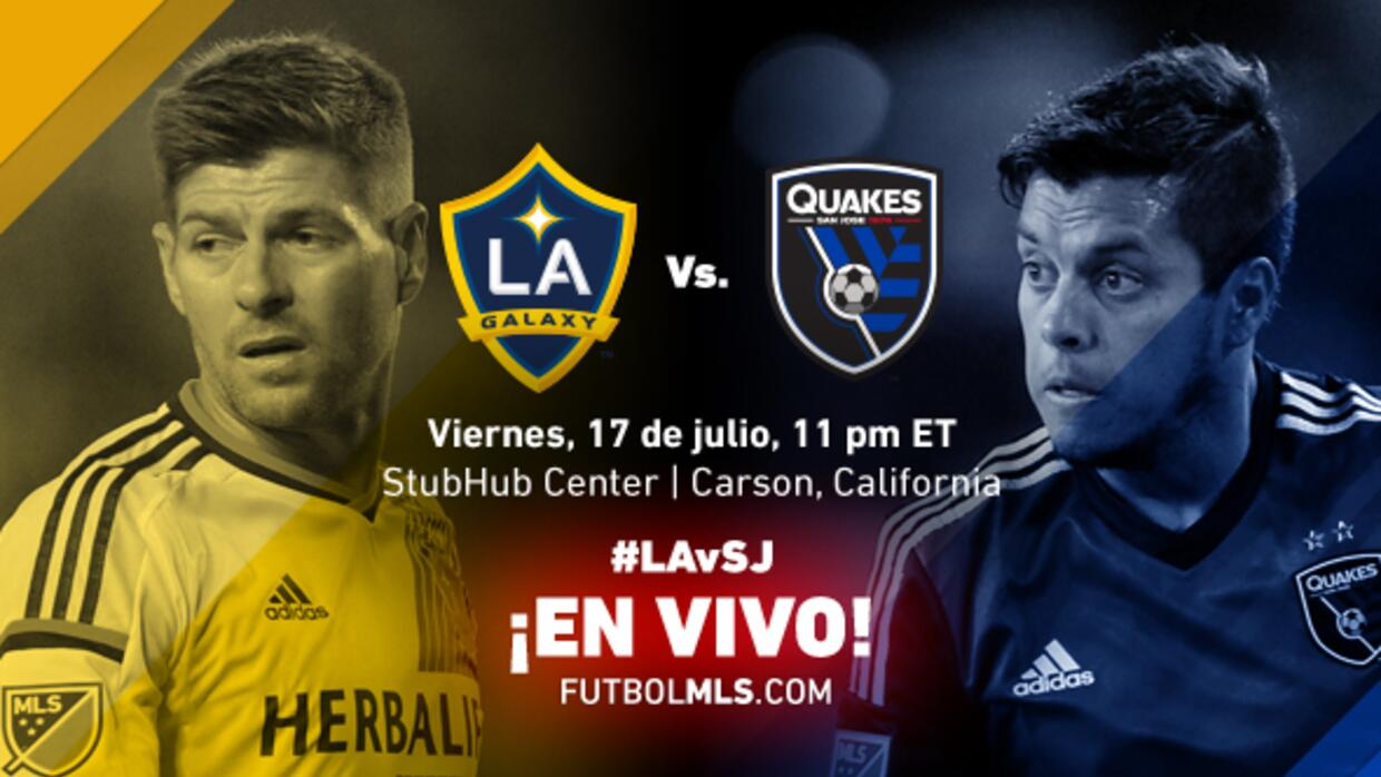 EN VIVO | LA Galaxy vs San Jose Earthquakes