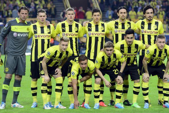 El Borussia Dortmund tenía la misión de aprovechar su loca...