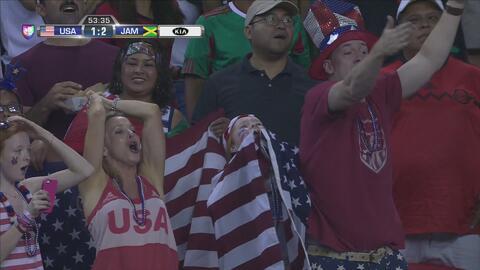 10 minutos de mala suerte para Estados Unidos