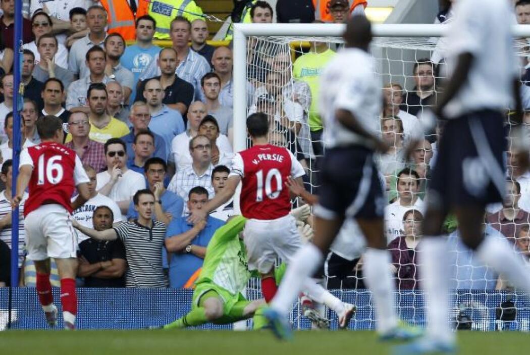 La segunda coincidencia llegó el 2 de octubre cuando el Arsenal se midió...