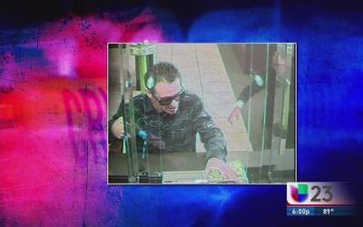 Buscan a asaltante de banco en Miami Beach