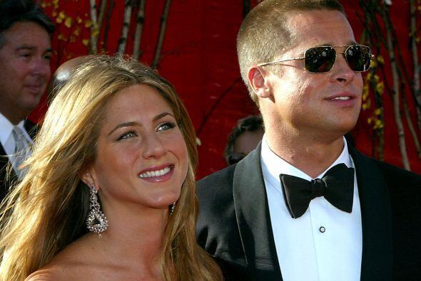 1.- A pesar de haber perdido a Brad Pitt siempre lució radiante....