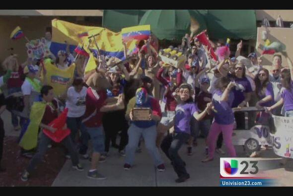 Un grupo de activistas venezolanos en Miami se han unido al frenes&iacut...