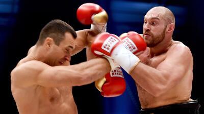 Tyson Fury fue más que Wladimir Klitschko.