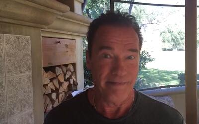 Schwarzenegger le responde a Trump: ¿Por qué no intercambiamos nuestros...