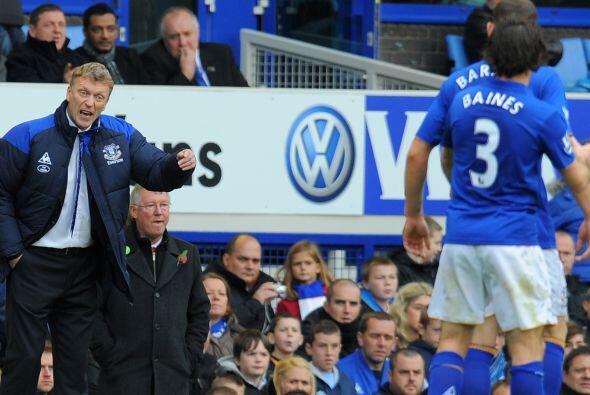 En el Everton, el DT y sus jugadores fueron sobrepasados por los nervios.