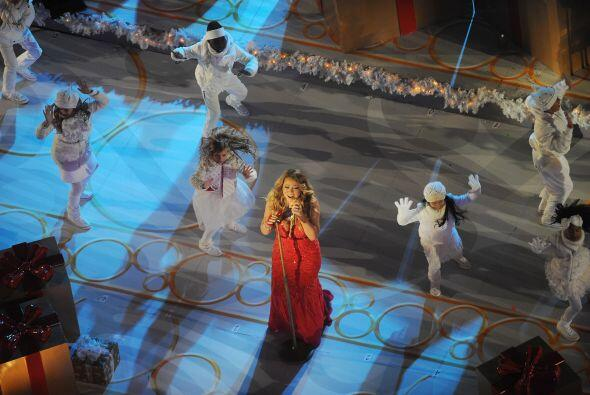 Dicha reunión fue el motivo por el cual Mariah no pudo grabar la...