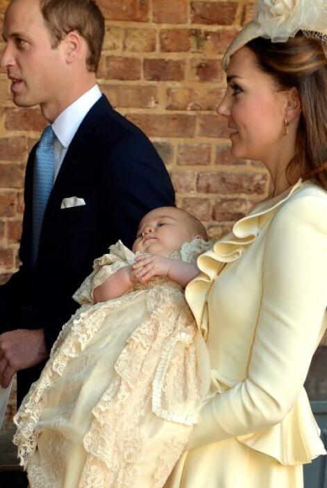 George siempre se mostró confiado y sereno, pese a su corta edad, no llo...