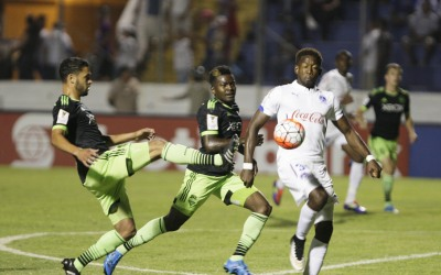 Olimpia gana en la Concacaf.
