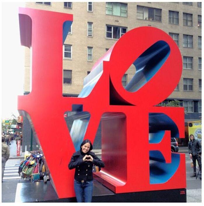 """""""Gracias por todo el amor"""", dijo Karla desde nueva York, un día antes de..."""