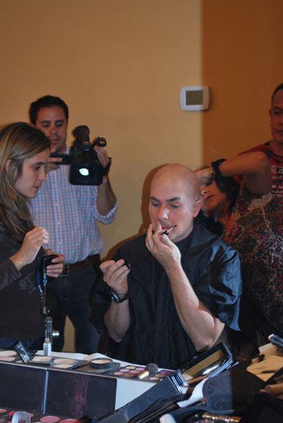Calderón no se dio cuenta de como Rivera observó toda la transformación.