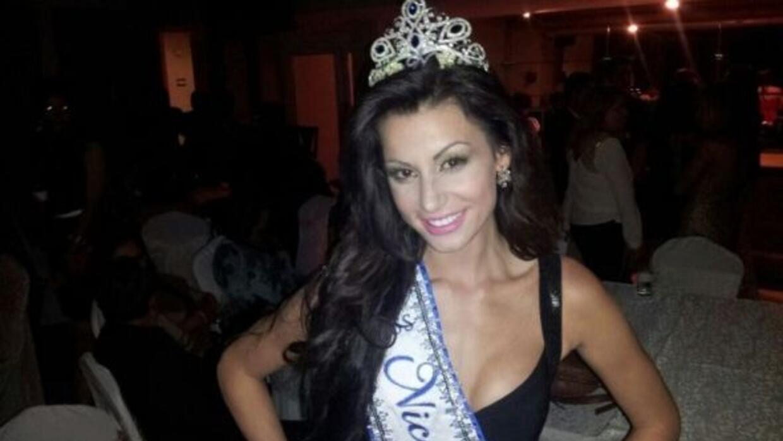 Nastassja Bolívar es Miss Nicaragua 2013.