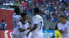 Goooolll!! Andy Ariel Najar mete el balón y marca para Honduras