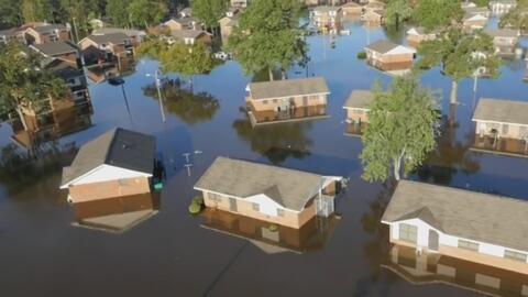 En peligro la vida de damnificados por inundaciones en Carolina del Norte