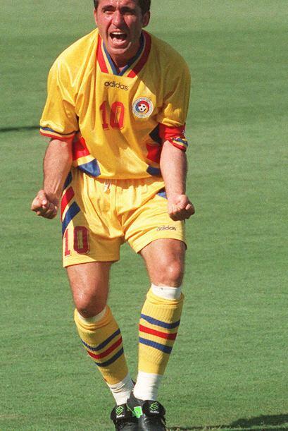 El rumano Gheorghe Hagi se vistió de madridista de 1990 a 1992.