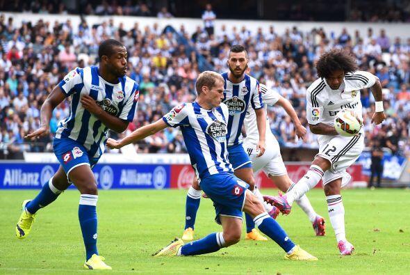 Marcelo no tuvo un partido tan sencillo como se esperaba pero pele&oacut...