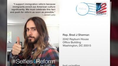 #Selfies4Reform es la app que podría llevar tu mensaje al Congreso