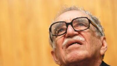 Gabriel García Márquez, en la Universidad de Guadalajara en noviembre de...