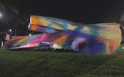 Inauguración Arte Público en Art Basel 2015 en Miami