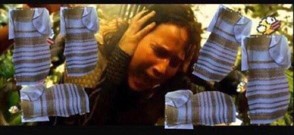 Katniss Everdeen también soñó con el vestido.