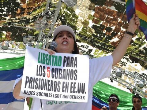 Una marcha contra la homofobia se realizó por las calles de Cuba.