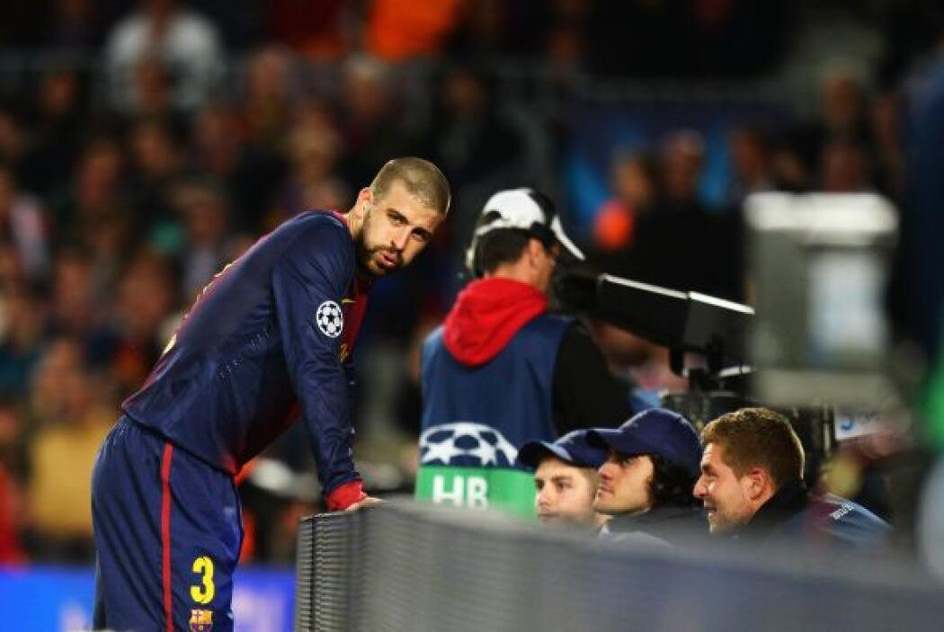El defensor catalán no podía creer lo que pasaba.