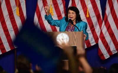 Dolores Huerta asegura que el voto hispano definirá las presidenciales d...