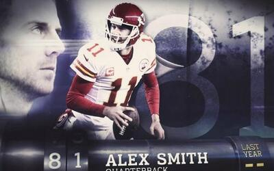 Top 100 Jugadores del 2016: (Lugar 81) QB Alex Smith