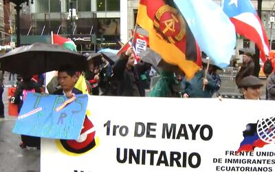 'Nueva York en un Minuto': organizaciones proinmigrantes preparan marcha...