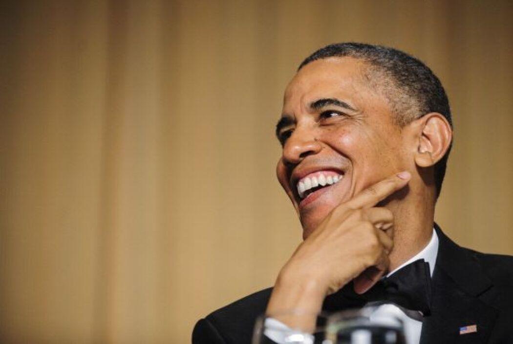 Algunos de los chistes de Obama fueron a costa de sus rivales republicanos.