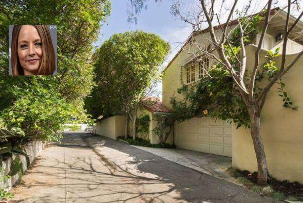 La actriz Jodie Foster compró esta mansión en 1997 y fue hasta el 2014,...